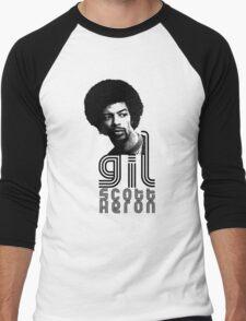 Gil Scott-Heron Men's Baseball ¾ T-Shirt