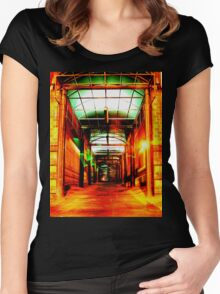 Sneakin' Sally Through The Alley  Women's Fitted Scoop T-Shirt