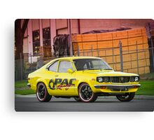 Luke Eberhart's Mazda RX3 Coupe Canvas Print