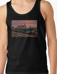 Great Western Railway Engine 2857 at Sunset Tank Top