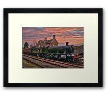Great Western Railway Engine 2857 at Sunset Framed Print