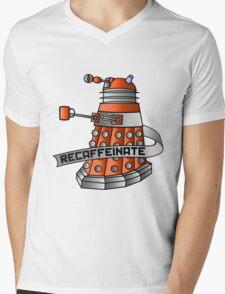 Recaffeinate Mens V-Neck T-Shirt