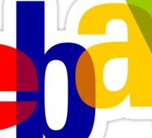 ebay logo Sticker