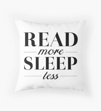 Read/Sleep Throw Pillow