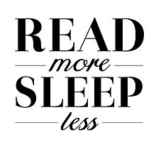 Read/Sleep Photographic Print