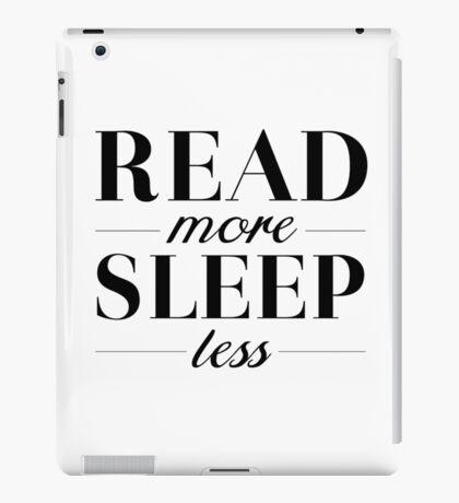 Read/Sleep iPad Case/Skin