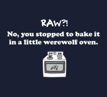 Teen Wolf - Werewolf Oven by ldyghst