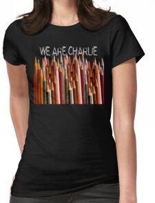 WE ARE CHARLIE Womens Fitted T-Shirt