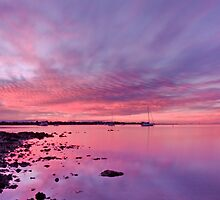 Victoria Point Sunset - Qld Australia by Beth  Wode