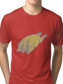 pug belly Tri-blend T-Shirt