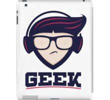 Hardcore Gamer Geek iPad Case/Skin