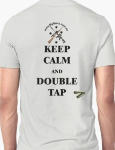 Keep Calm & Double Tap! T-Shirt
