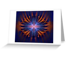 Wire and Tube Burst Greeting Card