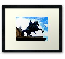 Duke of Wellington Memorial ~ Edinburgh Framed Print