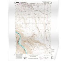 USGS Topo Map Indiana ID Lewiston Orchards South 236870 1958 24000 Poster