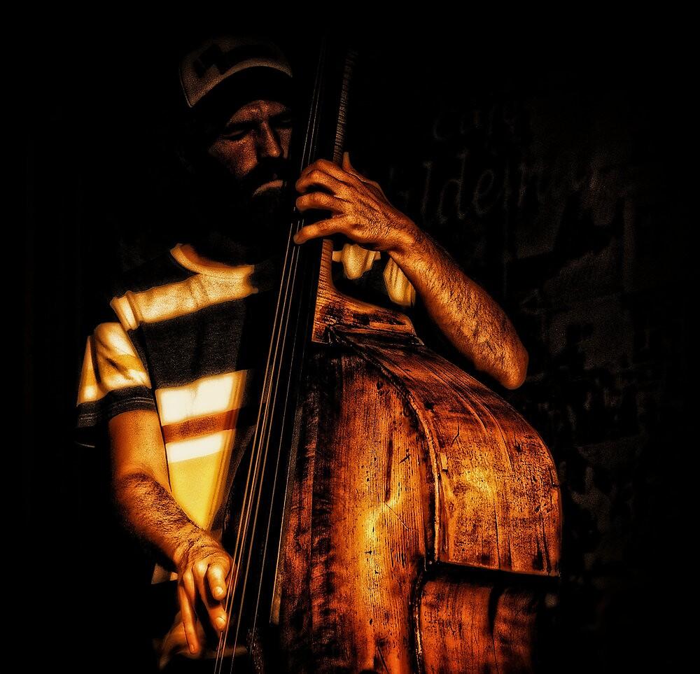 Mr. Bass man by Alan Mattison