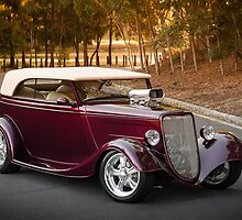 Shawn Muscat '34 Ford Tourer by HoskingInd