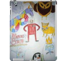 mst3k/Adventure Time crossover iPad Case/Skin