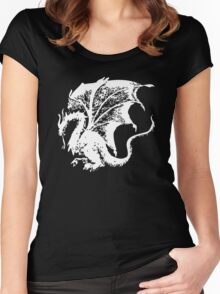 Dragon Inverted Women's Fitted Scoop T-Shirt