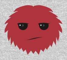 Meh Little Red Hairy Thing by onebaretree