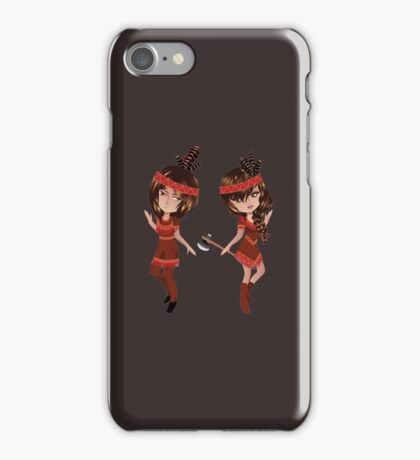American Indians Couple iPhone Case/Skin