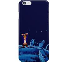 Guybrush went bone hunting! iPhone Case/Skin