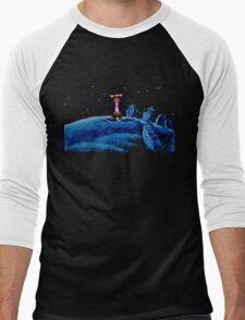 Guybrush went bone hunting! Men's Baseball ¾ T-Shirt