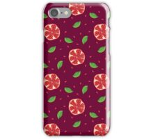 Pomegranate punch iPhone Case/Skin