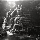Misty Sylvia Falls by Peter Hill