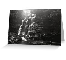 Misty Sylvia Falls Greeting Card