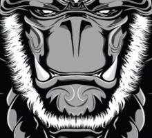 Gorilla Samurai Sticker