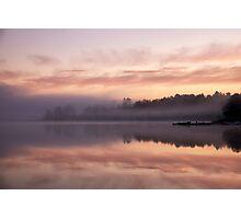 Caramel sunrise Photographic Print