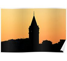 Galata Tower Poster