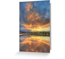 Lake Crosbie, Murray-Sunset NP Greeting Card