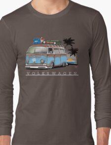 Bay sittin' at the Beach Long Sleeve T-Shirt