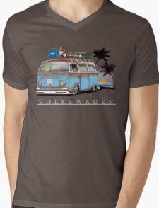 Bay sittin' at the Beach Mens V-Neck T-Shirt