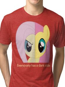 my little pony friendship is magic everypony has a dark side Tri-blend T-Shirt