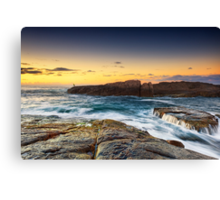 Morning Fisher Canvas Print