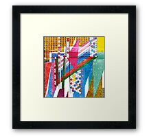 graphic bordello Framed Print