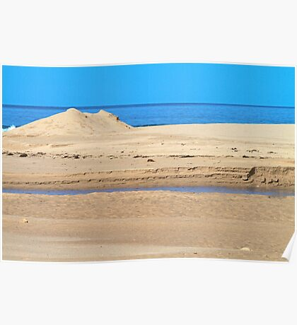 Inlet sand Poster