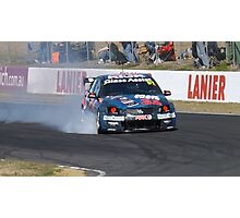 Qld Raceway 2012 Jacques Villeneuve  Photographic Print