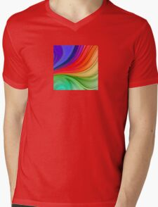 Abstract Rainbow Background Mens V-Neck T-Shirt