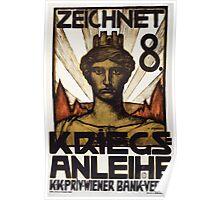 Zeichnet 8 Kriegsanleihe 1 1552 Poster