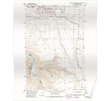 USGS Topo Map Indiana ID Lewiston Orchards South 236869 1958 24000 Poster