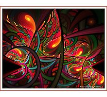 HOT FLAME  Photographic Print