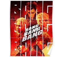 BIGBANG 'BANG BANG BANG' Typography 2 Poster