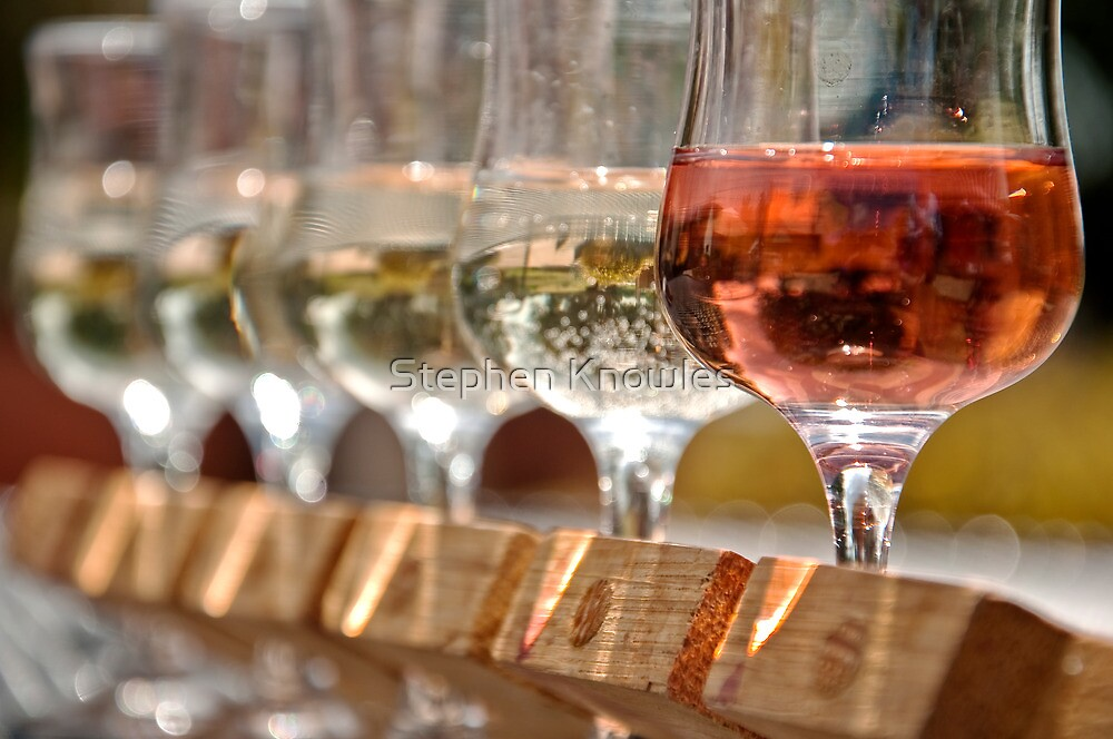 Wine Tasting by Stephen Knowles