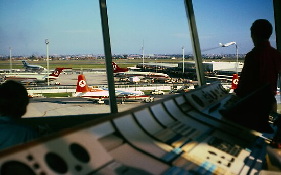 Essendon Airport 1971  by Ern Mainka