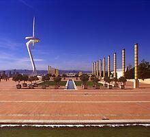 Estadi Olímpic Montjuic Lluis Companys, Barcelona 2010 by Michel Meijer