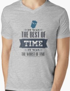 A Tale of One Doctor Mens V-Neck T-Shirt